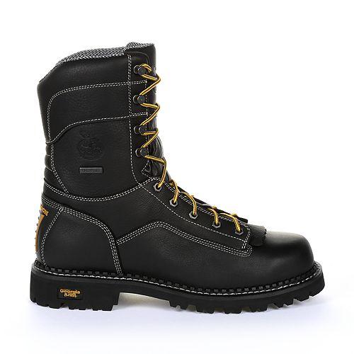 Georgia Boot AMP LT Logger Low Men's Waterproof Work Boots