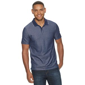 Men's Apt. 9 Pique Tipped Polo