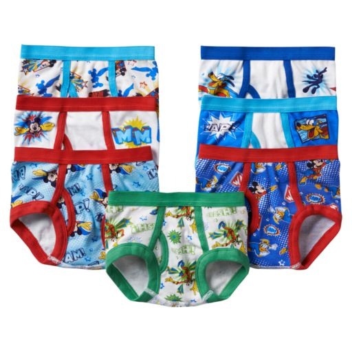 Disney's Mickey Mouse Toddler Boy Clubhouse 7-pk. Briefs