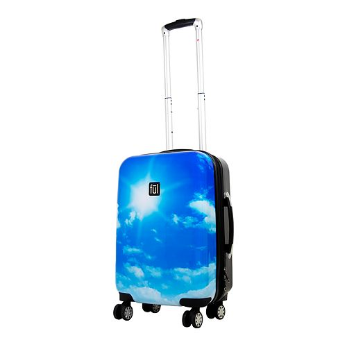 FUL Printed 21-Inch Hardside Spinner Luggage