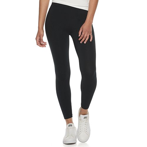 Juniors' SO® Midrise Sueded Leggings