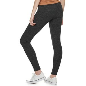 Juniors' SO Mid Rise Long Leggings