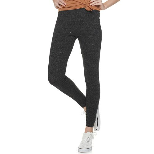 Juniors' SO® So Good Mid Rise Core Leggings