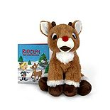 Kohl's Cares Rudolph and Reindeer Games Plush and Book Bundle