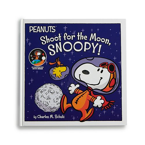 Kohl's Cares Peanuts Shoot for the Moon, Snoopy! Book