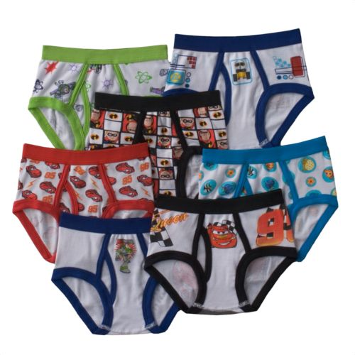 Disney / Pixar Cars 7-pk. Briefs - Toddler Boy