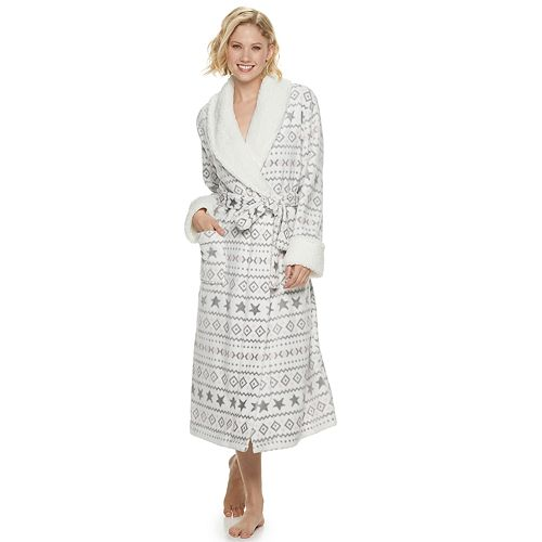 Women's SONOMA Goods for Life® Long Plush Robe