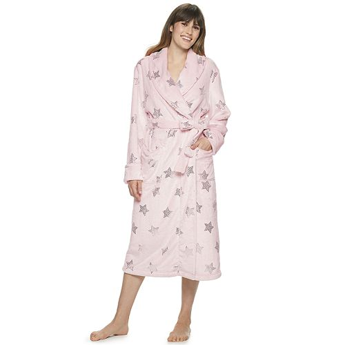 Women's Sonoma Goods For Life™ Long Plush Robe by Sonoma Goods For Life