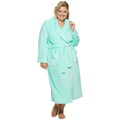 Plus Size SONOMA Goods for Life™ Long Plush Robe