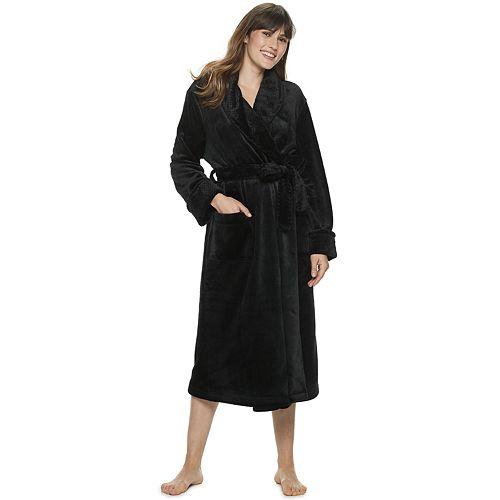 Petite SONOMA Goods for Life™ Long Plush Robe