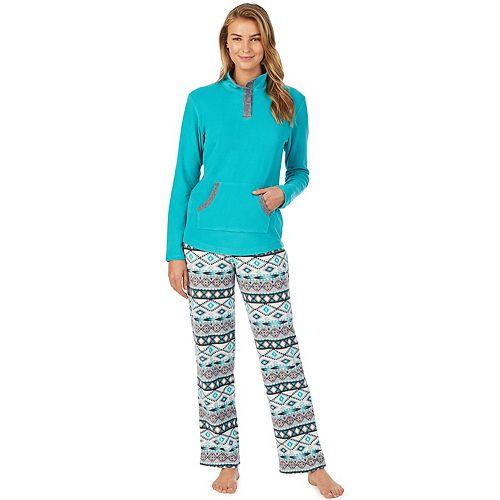 Women's Cuddl Duds 2 Piece Pajama Set by Cuddl Duds