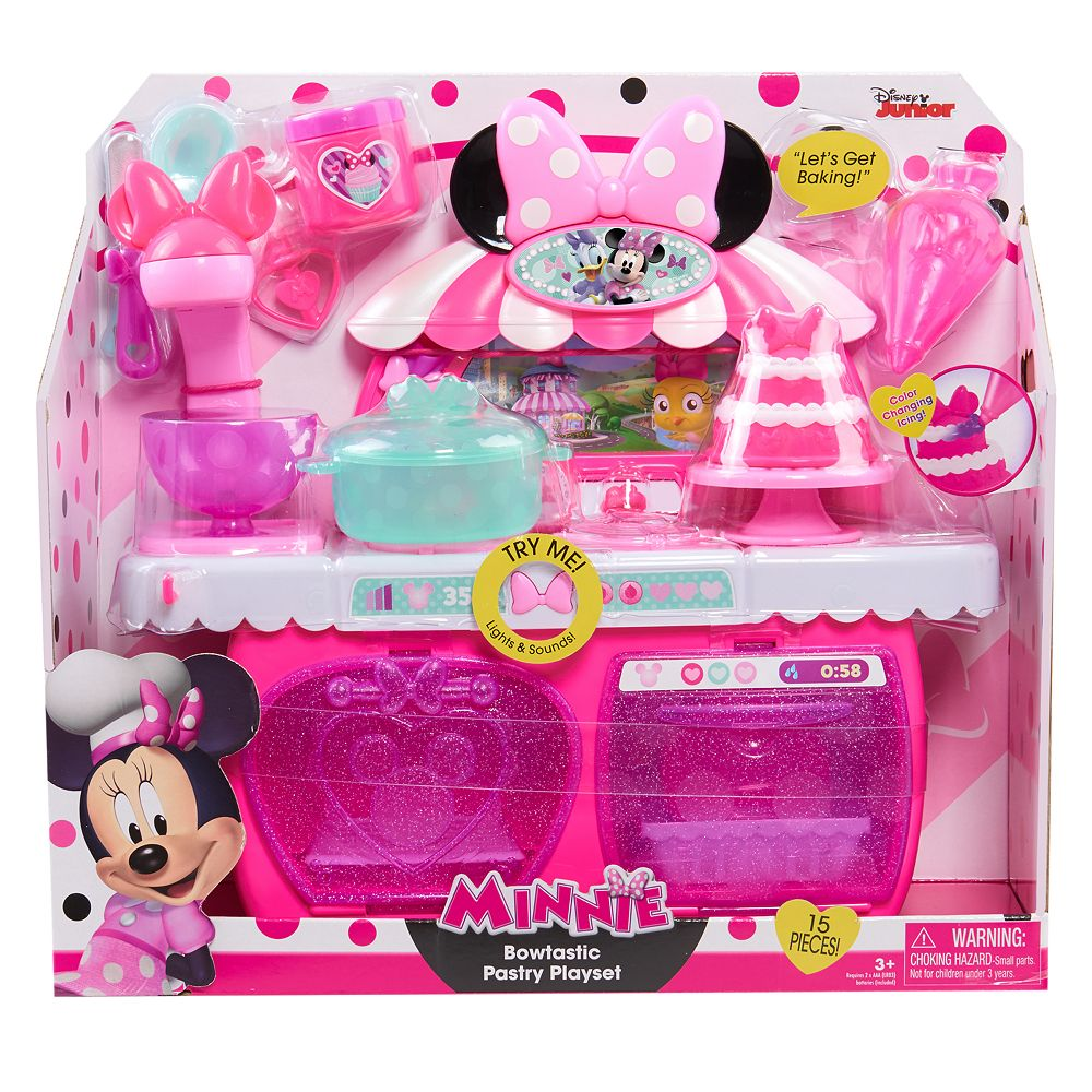 Just Play Minnie S Happy Helpers Bowtastic Pastry Playset