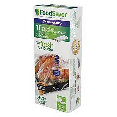 FoodSaver 11' x 16' Expandable Vacuum Seal Rolls 2-pk.
