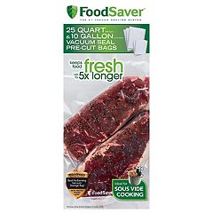 FoodSaver Vacuum Seal Bag Multipack for Food Preservation & Sous Vide Cooking