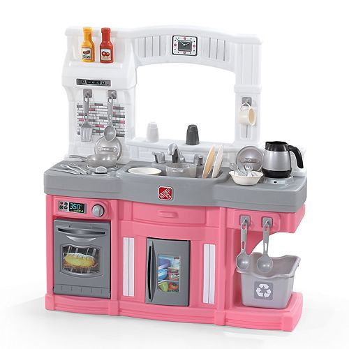 Step2 Modern Cook Play Kitchen Pink Set