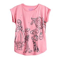 Disney / Pixar Toy Story Girls 4-12 Graphic Tee by Jumping Beans®
