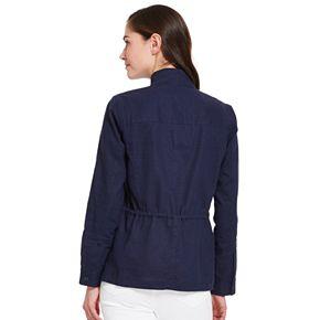 Women's IZOD® Linen Jacket