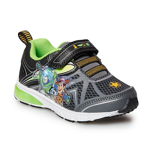 Disney / Pixar Toy Story Woody & Buzz Lightyear Toddler Boys' Light Up Shoes