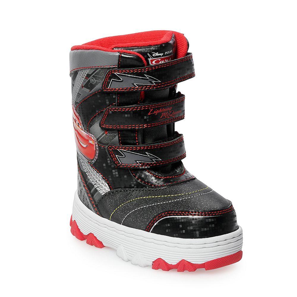 Disney / Pixar Cars Lightning McQueen Toddler Boys' Winter Boots