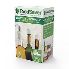 FoodSaver Bottle Stoppers 3-pk.