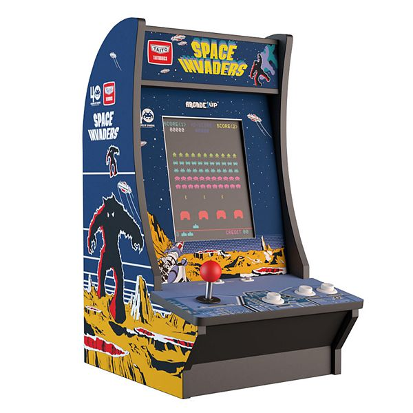 Arcade 1 Up Space Invaders Counter Arcade Machine