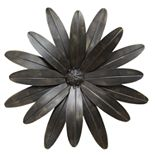 "Stratton Home Decor ""Industrial Flower"" Wall Decor"