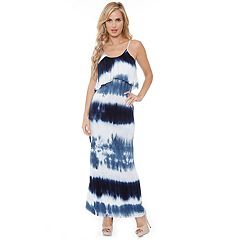 Women's White Mark Kalea Tie Dye Maxi Dress