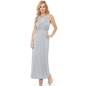 Women's White Mark Katherine Maxi Dress
