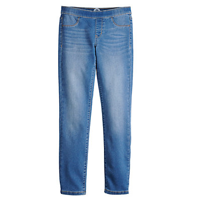 Girls 7-16 SO® Midrise Pull-On Skinny Jeans