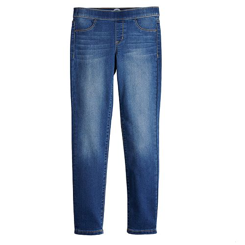 Girls 7-16 & Plus Size SO® Midrise Pull-On Skinny Jeans