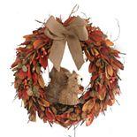 Sisal Squirrel Fall Wreath
