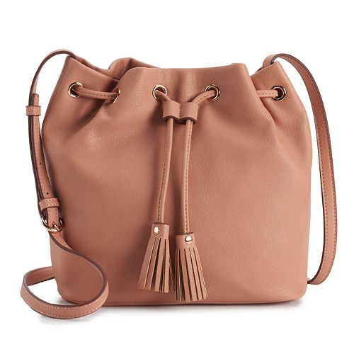 LC Lauren Conrad Kali Bucket Bag