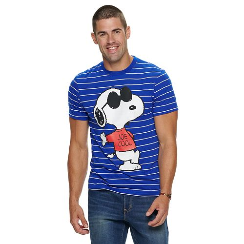 Men's Peanuts Joe Coolness Short Sleeve Tee