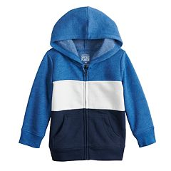 Jumping Beans® Football Sherpa-Lined Fleece Hoodie 12 or 24 Months Baby 6
