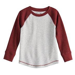 Toddler Boy Jumping Beans® Long-Sleeve Thermal Raglan Tee