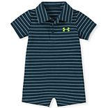 Baby Boy Under Armour Polo Coverall
