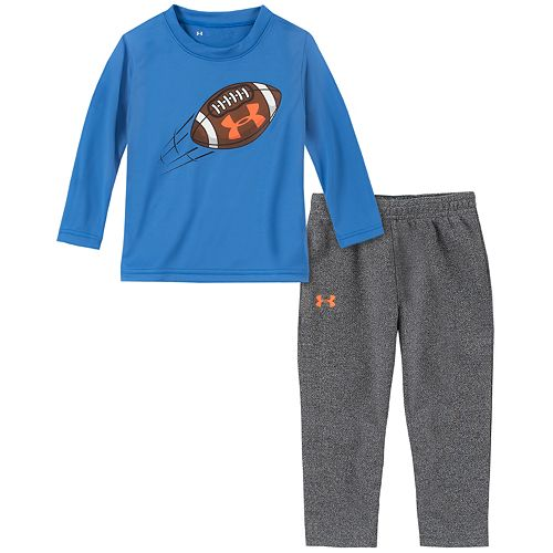Baby Boy Under Armour Football Throw Tee Set
