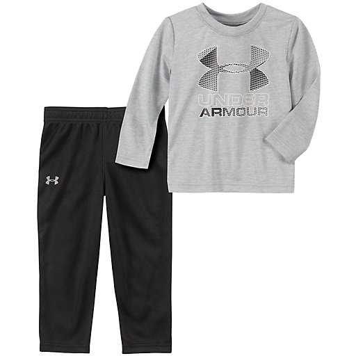 Shirt; Pants; Never Quit - Size 3-6 New Girls Under Armour Outfit 6-9 mo