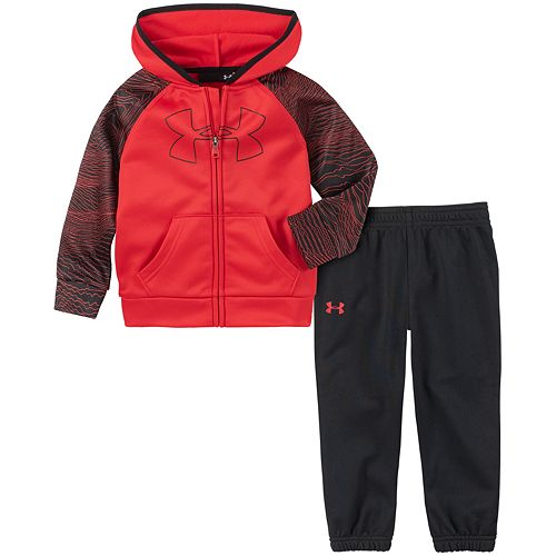 Baby Boy Under Armour Mapped Track Set