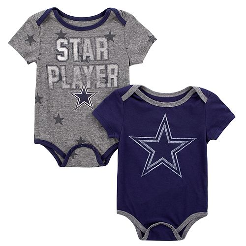 promo code 5a4b7 4eeea Dallas Cowboys Mayfield 2-pack Onesie Set