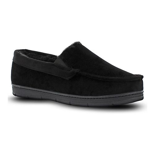 Men's Van Heusen Velour Moccasin Slippers