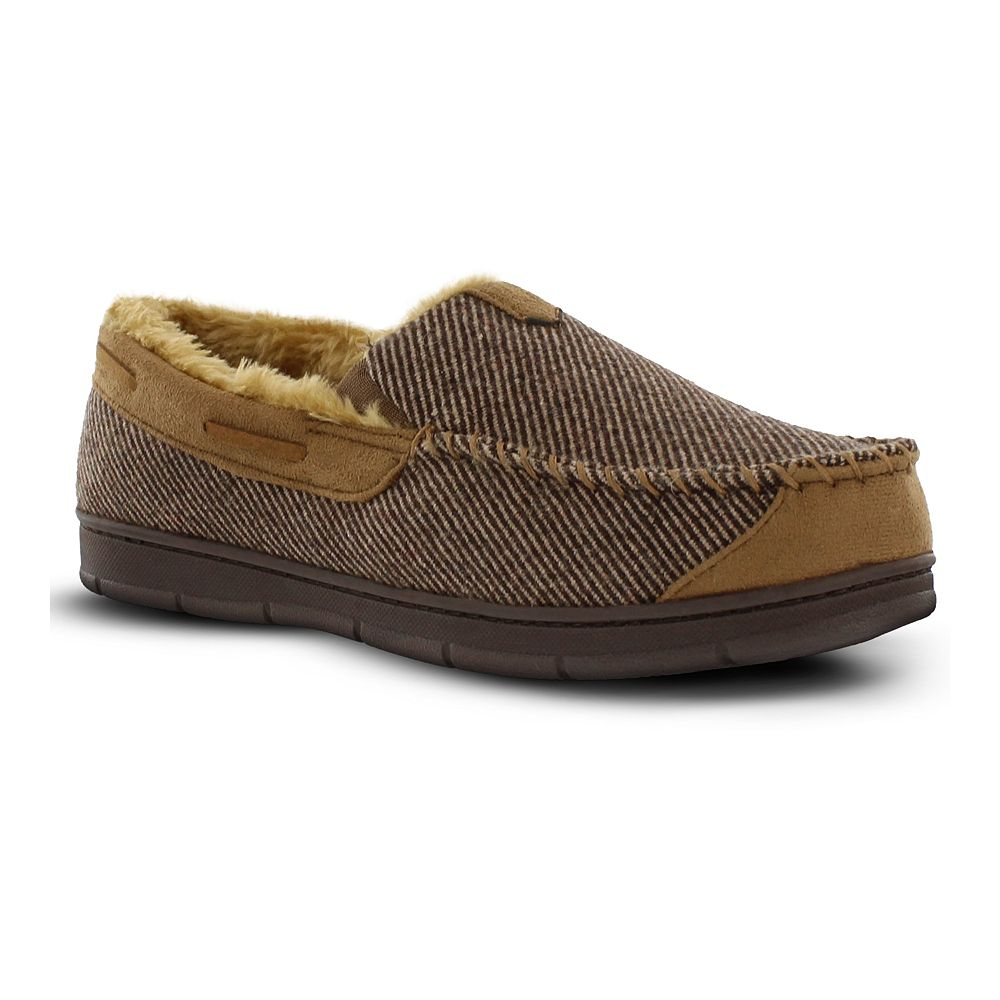 Men's Van Heusen Luxury Moccasin Slippers