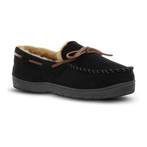 Men's Van Heusen Microsuede Moccasin Slippers