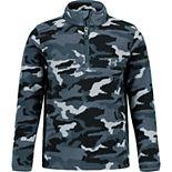 Boys 4-7 Under Armour 1/4-Zip Camo Polar Fleece Pullover