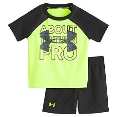 072c85425f82b Baby Boy Under Armour 'About To Turn Pro' Tee & Shorts Set