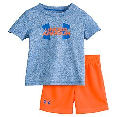 89c23864c1be Baby Boy Under Armour Hybrid Big Logo Tee & Shorts Set