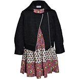 Girls 4-6x Blueberi Boulevard Dress & Jacket Set