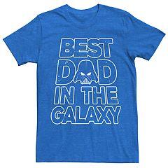 e4501118 Men's Star Wars Best Dad Tee