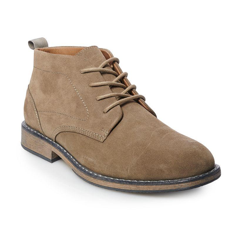 Sonoma Goods For Life Trae Men's Waterproof Chukka Boots, Size: Medium (12), Lt Beige