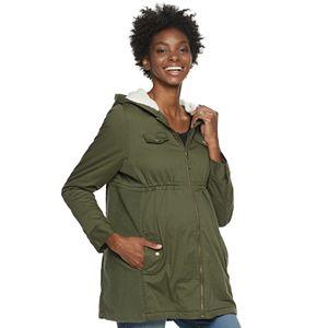 Women's a:glow Sherpa Lined Utility Jacket
